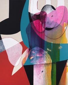 "Carrie Moyer, ""Carnivalesque,"" 2012."