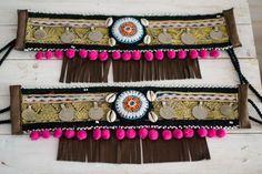 Image result for cubrebotas con pompones plumas y mariposa