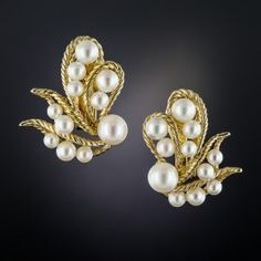 Fine Pins & Brooches Sunny Brooch With Shell Cameo Cultured Pearls Real Gold 333 Traveling