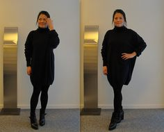 Cashmere and buckled boots