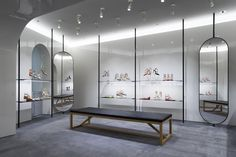 Shoes, shoes and more shoes! The new Rome flagship does not disappoint. www.valentino.com