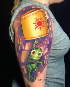 Rapunzel Tattoo, Lantern Tattoo, Disney Tattoos, Paper Lanterns, Pixar, Tattoo Ideas, Wedding Rings, It Is Finished, Sea