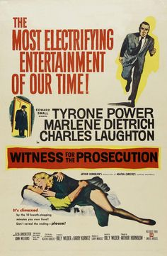 Witness for the Prosecution (1957) HD Wallpaper