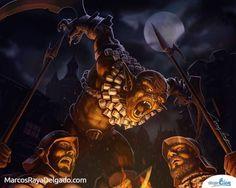 Cuchillero Goblin Magic the Gathering - Fantasía | Dibujando.net