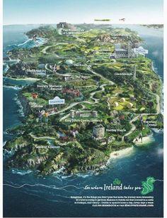 Map of Ireland... I can't wait to travel in a few years time, ESPECIALLY to Ireland! Ireland Travel Информация на нашем сайте https://storelatina.com/ireland/travelling #ಐರ್ಲೆಂಡ್ #ഐർലാൻഡ് #આયર્લેન્ડ #Irlandiya