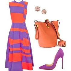 A fashion look from June 2016 featuring Roksanda dresses, Christian Louboutin pumps and Valentino shoulder bags. Browse and shop related looks. Passion For Fashion, Love Fashion, Fashion Looks, Womens Fashion, Stylish Outfits, Cute Outfits, Fashion Outfits, Mode Collage, Frack