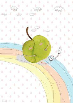Lucie Georger - ilustrador Illustrations, Good Food, Tableware, Pretty, Fun, Illustrator, Kid, Fin Fun, Dinnerware