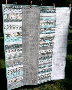 Modern Baby Quilt modern-quilt-ideas