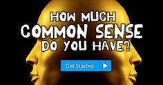 ¿Cuánto Sentido Común Tienes?