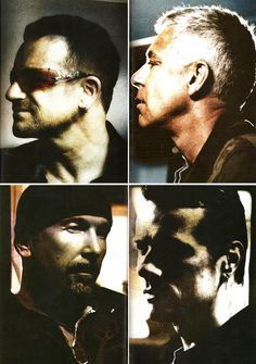 Bono, Adam, Edge & Larry