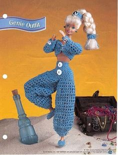 gift presents for kids: barbie fashion | make handmade, crochet, craft - free pattern by Peggy Longshore