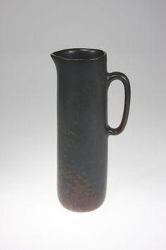 CARL-HARRY STALHANE -  Stoneware pitcher  -  Rorstrand - Sweden - 1950s