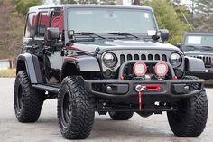2016 Jeep Wrangler Rubicon Hard Rock Unlimited Black