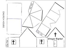 168 best houses for karen images on pinterest paper toys paper 2 of 2 paper church for vbs maxwellsz