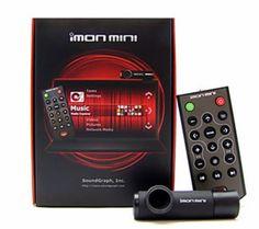 iMON Mini SOUNDGRAPH Receiver and Remote Control Laptop/Monitor