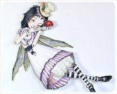 FAIRY Wall Art Paper Doll