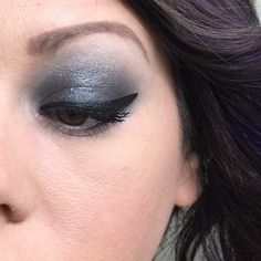 I'm kind of obsessed with this eye look created using our Skeptical cream shadow