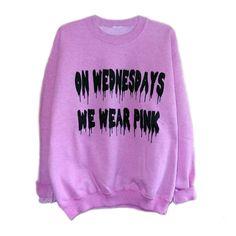 Luncchb0xx Clothing - We Wear Pink Sweatshirt
