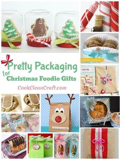 Christmas is a great time of year to bake up a storm (thankfully there hasn't been any pre-Christmas heatwaves here!). You've made mountains of cookies and other sweet treats, and it's time to give them out to friends, teachers, neighbours or customers. You could throw them in a plastic bag and call it done, but …