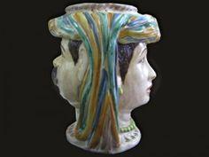 Fantastiche immagini su ceramiche siciliane nel italian