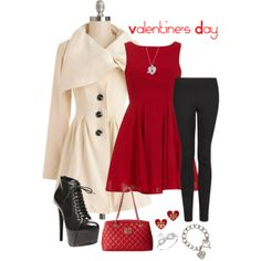 A Valentine's Day outfit! #valentinesday #love #fashion