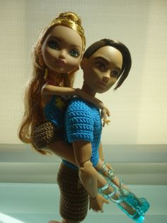 Ever After High Dolls Going On a Picnic Free Pattern