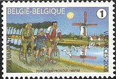 belgian stamps Summer Stamps.