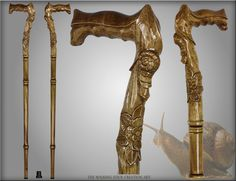 staff of obedience carved walking stick | Art Natural Handle Wood Carved Crafted Walking Stick Cane Staff