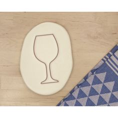 Wine Glass Cookie Cutter Different Sizes Alcohol Drink Bordeaux Rioja... ($2.88) ❤ liked on Polyvore featuring home, kitchen & dining and drinkware