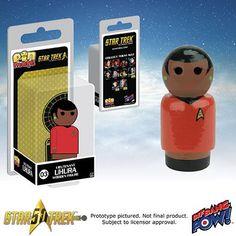 Star Trek: The Original Series Lieutenant Uhura Pin Mate - Bif Bang Pow! - Star Trek - Pin Mates at Entertainment Earth