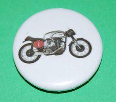 Norton Manx (Cammy) Button Badge