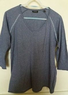 Kup mój przedmiot na #vintedpl http://www.vinted.pl/damska-odziez/bluzki-z-3-slash-4-rekawami/16100688-niebieska-bluzka-z-ozdobnym-akcentem