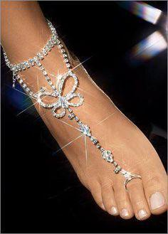 Beautiful Foot Bling!