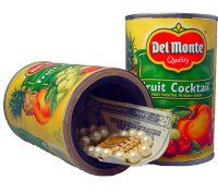 Order a Fake Del Monte Fruit Cocktail Secret Stash Diversion Can Safe and other diversion safe products online from The Home Security Superstore. Home Security Tips, Safety And Security, Security Products, Recipes With Fruit Cocktail, Diversion Safe, Hidden Safe, Can Safe, Home Protection, Aleta