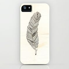 Feather iPhone & iPod Case by Lauren Miller - $35.00