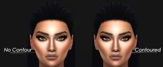"""Contour Palette VR. 1 by MAC (5 shades) I'm so excited to have finally gotten around to making this, its long overdue. I hope you all enjoy it! """"Mediafire SimFileShare """" **The model is also wearing..."""