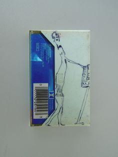 Keyboard Music 1989 (by Andrew Litten) biro on cassette box