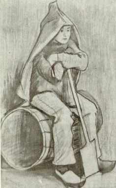 Boy with Spade. 1882. Vincent van Gogh: The Drawings