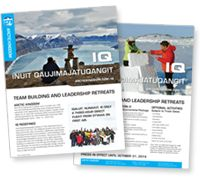 Meetings and Incentives - Arctic Kingdom Polar Expeditions