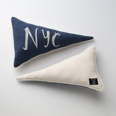 Schoolhouse Electric & Supply. This pennant pillow is my fave!