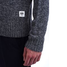 70f6a58f8355 Kevin is a lightweight plain knitted sweater crafted from extra-fine  Shetland wool giving the
