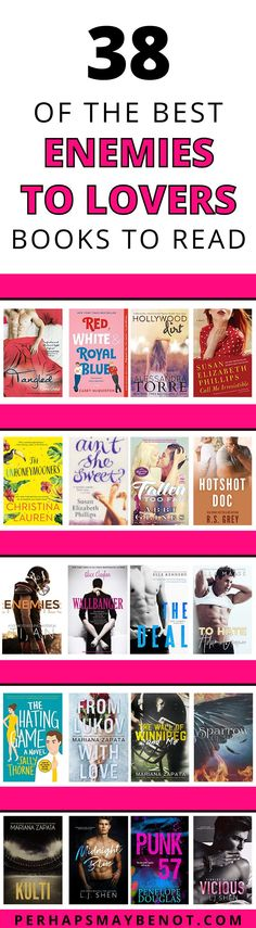 From morally questionable antiheroes to rivals in the office to foes on the ice rink, this curated list of contemporary enemies-to-lovers romances is bound to have something for everyone. #romance #contemporaryromance #bestbooks #bookstoread #enemiestolovers Lovers Romance, Romance Novels, Good Books, Books To Read, Reading Facts, Read Red, Book Subscription, Gifts For Bookworms, Ice Rink