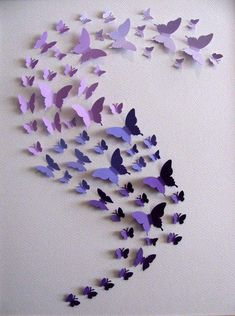 Butterfly Nursery, Butterfly Canvas, Paper Crafts, Diy Crafts, Paper Flowers Diy, Nursery Themes, Nursery Ideas, Craft Box, Decoration