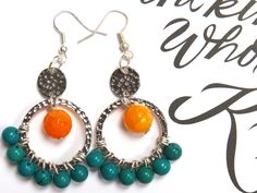 How to make Fancy Earrings | Alonso Sobrino Hnos. Co. & Inc. Druzy Beads and Fabrics