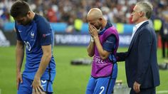 France head coach Didier Deschamps admits he and his side are disappointed with losing the Euro 2016 final against Portugal.