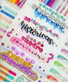 Bullet Journal Cover Ideas, Bullet Journal Banner, Bullet Journal Notes, Bullet Journal Writing, Bullet Journal School, Bullet Journal Inspiration, Journal Fonts, Scrapbook Journal, Nice Handwriting