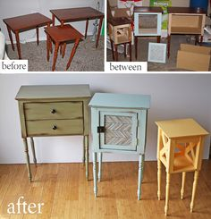 Nesting Table Upcycle