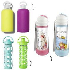 botellas de vidrio reutilizables para niños