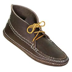 Arrow Moccasins: from a small, family company in Hudson, Massachusetts, who hand-make each pair cheaper than many designer brands trying to imitate the rugged aspects of the real thing.