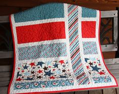 all star baby quilt  ... by paisleycrazy